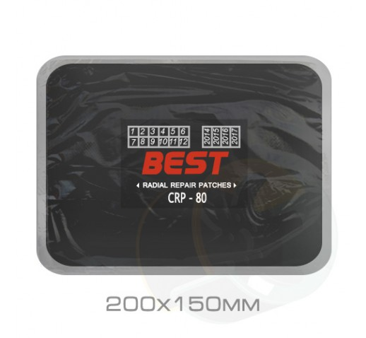 Кордовый пластырь Bestpatch CRP-80