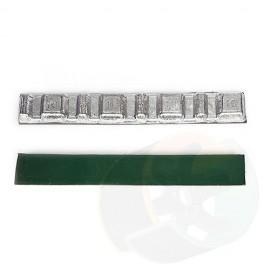 Грузик для балансировки самоклеящийся зеленый