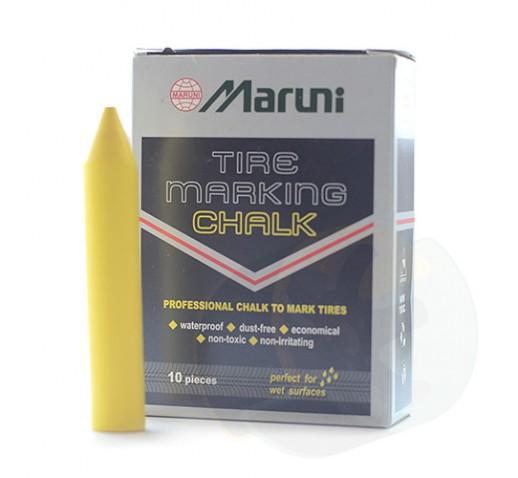 Мел желтый 12мм (Maruni)