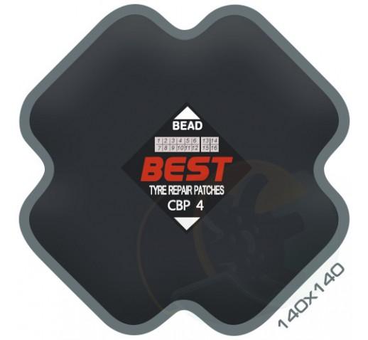 Пластырь диагональный BESTpatch CBP-4